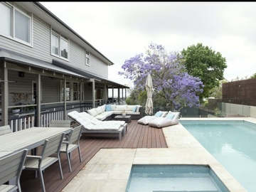 Renting out with online payment: North facing pool