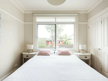 Renting out with online payment: Bedroom with Queen Bed and Room Darkening Shades