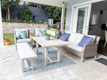 Renting out with online payment: Deck with Seating Area and Pool View