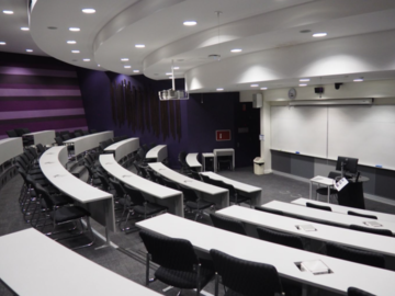 Renting out with online payment: Modern, Medium-Sized Lecture Theatre