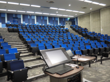 Renting out with online payment: Lecture Theatre With Armrest Style Seating