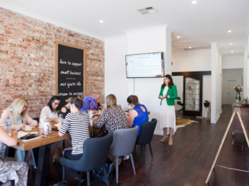 Renting out with online payment: Unique Workspace with Exposed Brick Wall and Furnishings