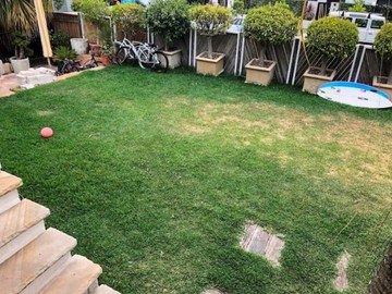Renting out with online payment: Spacious Yard/Garden Area